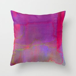 Neon District 2 Throw Pillow