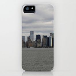 Fifty Shades of Grey NYC Manhattan Skyline iPhone Case