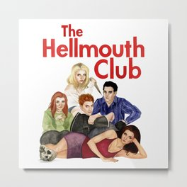 The Hellmouth Club Metal Print