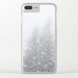 Winter Wanderings - 69/365 Clear iPhone Case