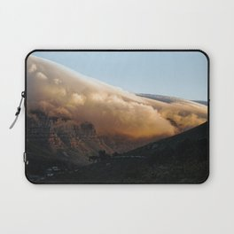 Crowned in clouds Laptop Sleeve
