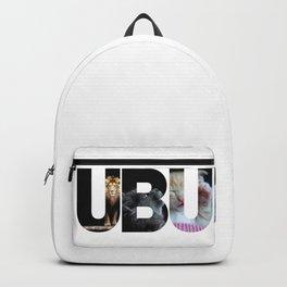 Inspirational U B U Lion Cat Kitten Photo Frames Design Backpack