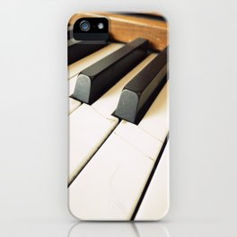 The Fractured Ivories. iPhone Case