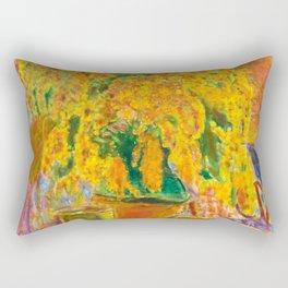 Pierre Bonnard - Bouquet de Mimosas - Les Nabis Painting Rectangular Pillow