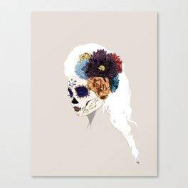Versailles Skull Canvas Print