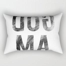 Believe the Dogma - AMGOD Rectangular Pillow