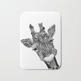Curious Giraffe Bath Mat