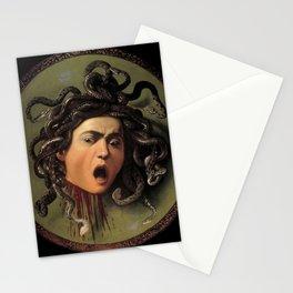 Medusa Michelangelo Merisi da Caravaggio Stationery Cards