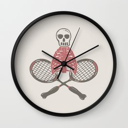 (BAD)MINTON Wall Clock
