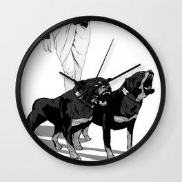Fashion Rottweiler  Wall Clock