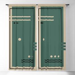 Doors 2 Blackout Curtain