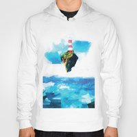 gorillaz Hoodies featuring Lighthouse by Vadim Cherniy