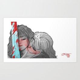 My Knight Art Print