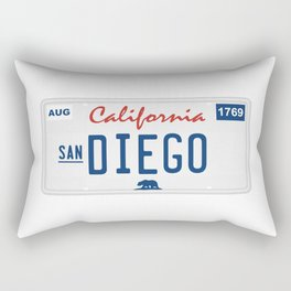 San Diego. Rectangular Pillow