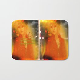 Fire Passion Poetry Bath Mat