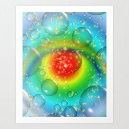 """""""Eye Of The Beholder"""" Art Print"""
