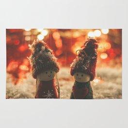 156 - Christmas memories Rug