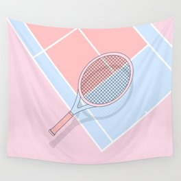 Hold my tennis racket Wall Tapestry