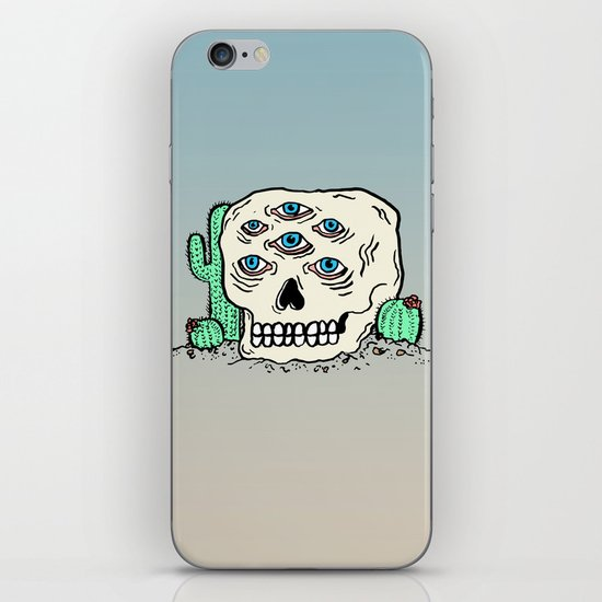 DIE IN THE DESERT iPhone & iPod Skin