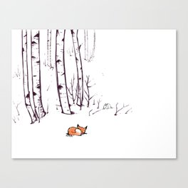 grow cold now Canvas Print