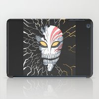 bleach iPad Cases featuring Bleach Hollow Mask by MadameAce