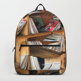 Albums On The Shelf Backpack
