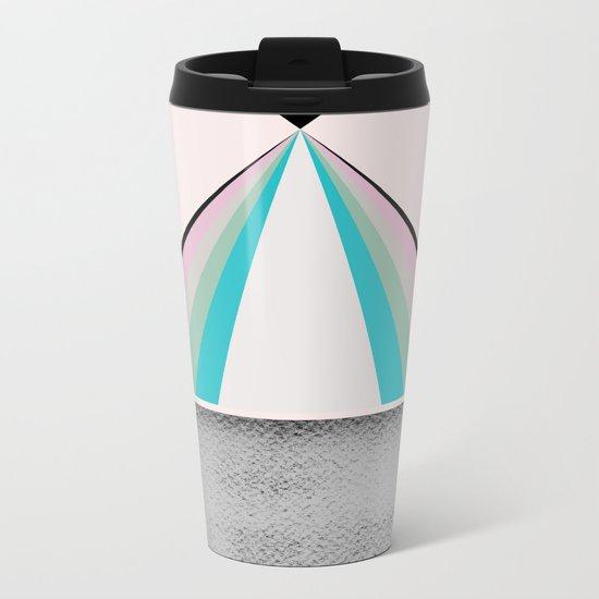 Drop Metal Travel Mug