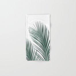 Tropical Palm Leaves #2 #botanical #decor #art #society6 Hand & Bath Towel