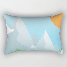 Eat the World Rectangular Pillow