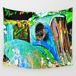 Vivid Relic Wall Tapestry
