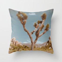 Joshua Tree XI / California Desert Throw Pillow