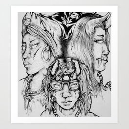 Witches/Enchantment Art Print