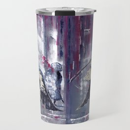 'The Winter Ronin Strikes' Travel Mug