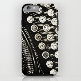 Underwood  typewriter iPhone Case