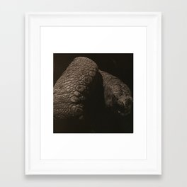Age Framed Art Print