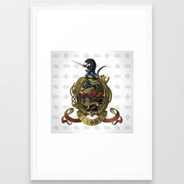 Leanna Eileen Rourke's Coat-of-Arms Framed Art Print