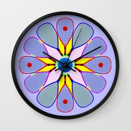 Racquetball Design version 2 Wall Clock