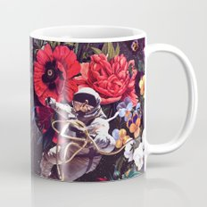 Flowers and Astronauts Mug