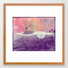 Basye River Poetry Framed Art Print