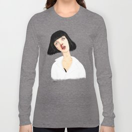 Mrs Mia Wallace Long Sleeve T-shirt