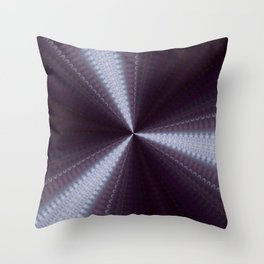 Deep Aubergine Eggplant Throw Pillow