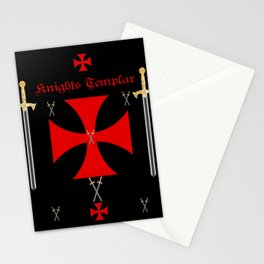 Knights Templar Stationery Cards
