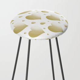 Heart of Gold Counter Stool
