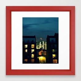 Night in the City Framed Art Print