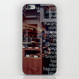 At the bakers iPhone Skin