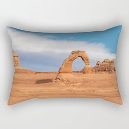 Delicate Arch 0415 - Arches National Park, Moab, Utah Rectangular Pillow