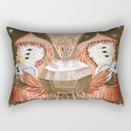 The Song Rectangular Pillow