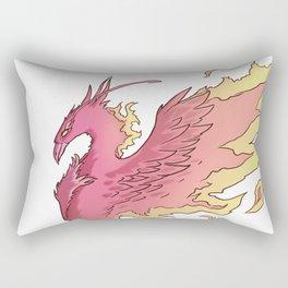 Phoenix Ember Rectangular Pillow