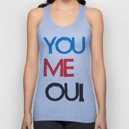 You Me Oui Unisex Tank Top