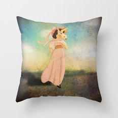 Pinkie Unicorn Throw Pillow